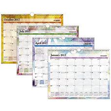 Day Runner Monthly Wall Calendar 12