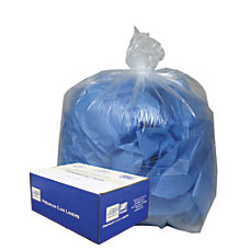 Webster Classic Clear Trash Can Liners