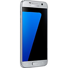 Samsung Galaxy S7 Cell Phone Silver