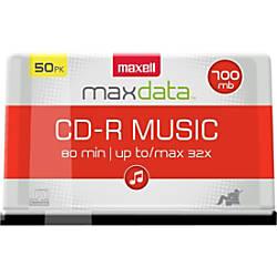 Maxell 4x CD RW Media