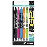 G2 Gel Pens Assorted BarrelInk 5