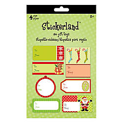 Sandylion Holiday Gift Tag Pads Trendy