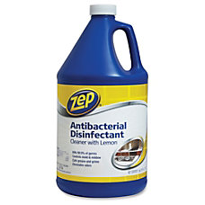 Zep Commercial Antibacterial Disinfectant Cleaner Liquid
