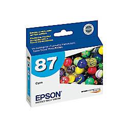 Epson 87 T087220 UltraChrome Hi Gloss