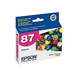 Epson 87 T087320 UltraChrome Hi Gloss