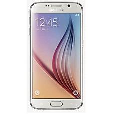 Samsung Galaxy S6 Cell Phone White