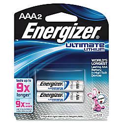 Energizer Ultimate Lithium AAA Batteries AAA