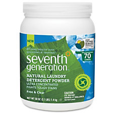 Seventh Generation Ultra Concentrated Natural Laundry