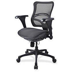 Lorell Mid back Fabric Seat Chairs