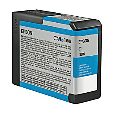 Epson T5802 T580200 UltraChrome K3 Cyan