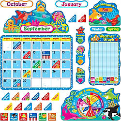 Trend Sea Buddies Calendar Bulletin Board