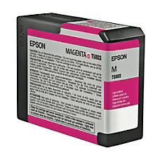 Epson T5803 T580300 UltraChrome K3 Magenta