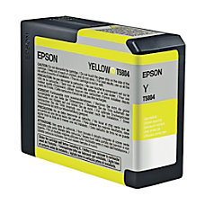 Epson T5804 T580400 UltraChrome K3 Yellow