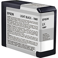 Epson T5807 T580700 UltraChrome K3 Light