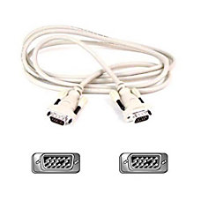 Belkin Replacement VGA Monitor Cable HDDB15MM