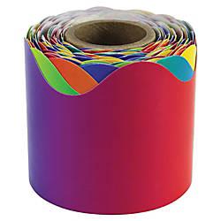 Carson Dellosa Rainbow Scalloped Border Fun