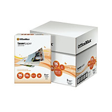 OfficeMax Laser Paper 96 Bright 2500