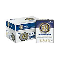 X 9 Hi Brite Multipurpose Paper