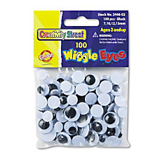 Chenille Kraft Creativity Street Wiggle Eyes