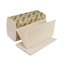 Boardwalk Green Single Fold Paper Towels
