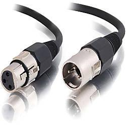 C2G 25ft Pro Audio XLR Male