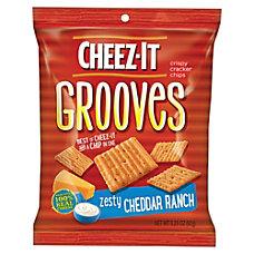 Keebler Cheez It Grooves Crispy Cracker