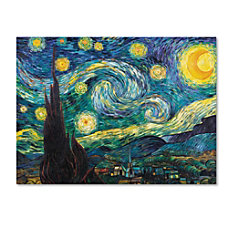 Trademark Global Starry Night Gallery Wrapped