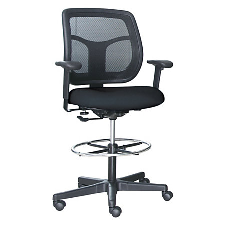Raynor Eurotech Apollo Vdft9800 Drafting Stool 46 12 H X