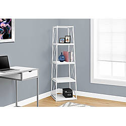 Monarch Specialties Etagere 4 Shelf Metal