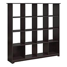 Bush Furniture Cabot 16 Cube Bookcase