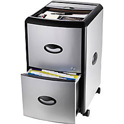 Storex 100percent Recycled File Drawer With