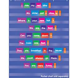 Scholastic Teacher Resources Pocket Chart Sentence