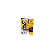 Avery Self Adhesive Laminating Sheets 9
