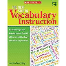 Scholastic Teacher Resources The Next Step