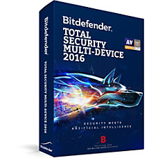 Bitdefender Total Security Multi Device 2016