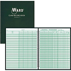 Ward Class Record Book Wire Bound