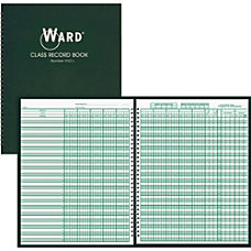 Ward 910L Class Record Book Wire