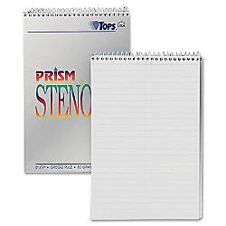 TOPS Prism Color Steno Notebooks 6