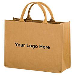 Hurricane Kraft Paper Tote Bag 12