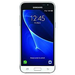 Samsung Galaxy J3 Cell Phone White