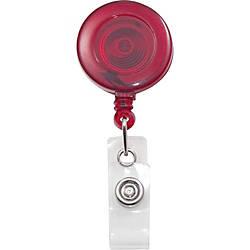 Advantus Translucent Retractable ID Card Reel