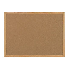 MasterVision Cork Bulletin Board Natural 36