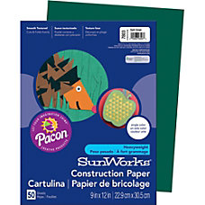SunWorks Groundwood Construction Paper 9 x