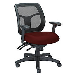 Raynor Eurotech Apollo VMFT9450 Mid Back Multifunction Manager Chair 39 12 H