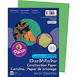 SunWorks Construction Paper Multipurpose 9 x