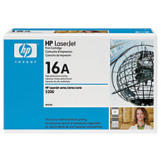 HP Q7516AG Black Toner Cartridge