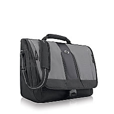 Solo Pulse 156 Messenger Bag BlackGray