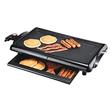 Brentwood Electric Griddle Non Stick Black
