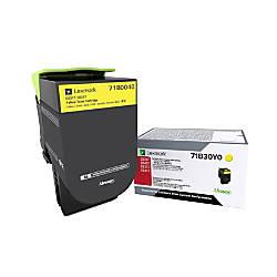 Lexmark 71B0040 Yellow Toner Cartridge