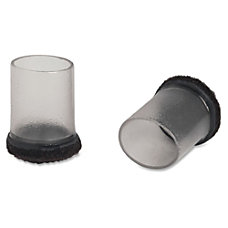 Lorell Clear Sleeve Floor Savers Clear